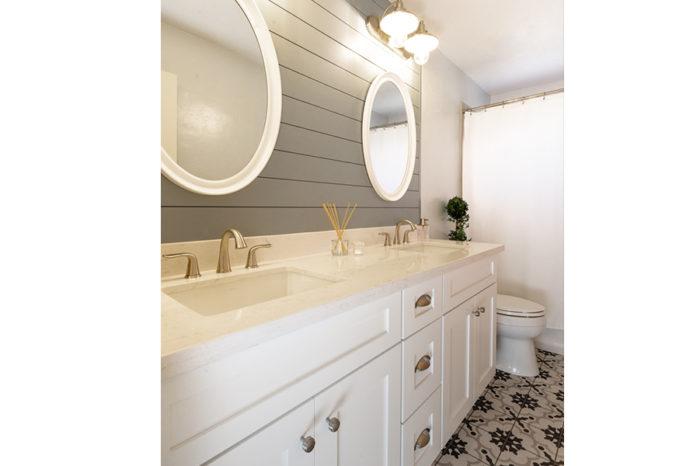 bathroom sink custom remodel
